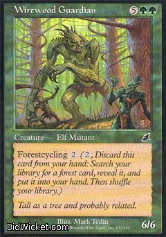 Wirewood Guardian, Scourge, Magic the Gathering