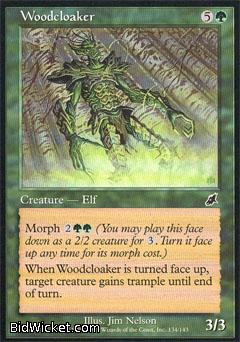 Woodcloaker, Scourge, Magic the Gathering