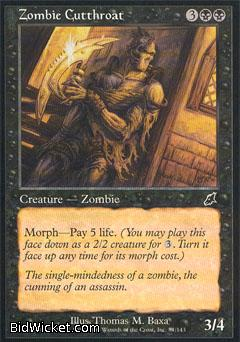 Zombie Cutthroat, Scourge, Magic the Gathering