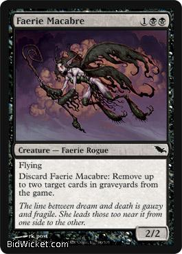 Faerie Macabre, Shadowmoor, Magic the Gathering
