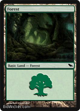 Forest (299), Shadowmoor, Magic the Gathering