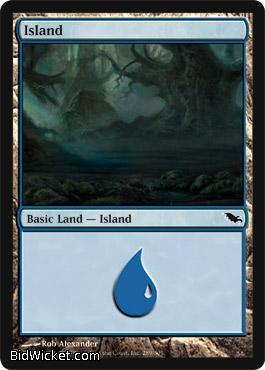 Island (289), Shadowmoor, Magic the Gathering