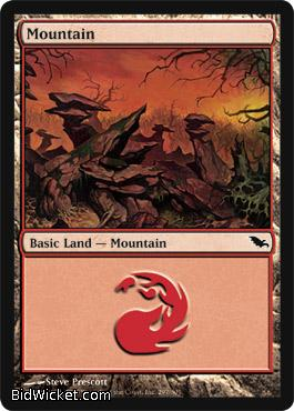 Mountain (297), Shadowmoor, Magic the Gathering