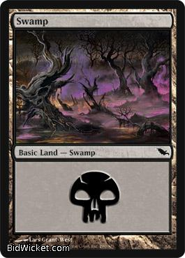 Swamp (291), Shadowmoor, Magic the Gathering