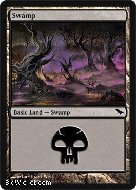 Swamp (291), Shadowmoor, Magic the Gathering