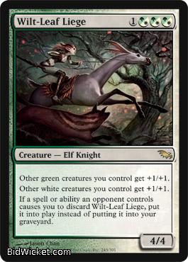 Wilt-Leaf Liege, Shadowmoor, Magic the Gathering