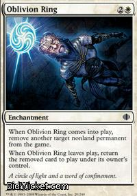 Oblivion Ring, Shards of Alara, Magic the Gathering