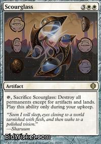 Scourglass, Shards of Alara, Magic the Gathering