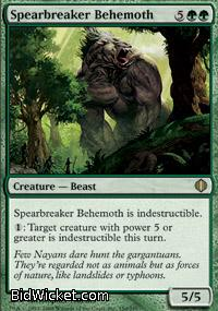 Spearbreaker Behemoth, Shards of Alara, Magic the Gathering