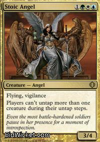 Stoic Angel,Shards of Alara, Magic the Gathering