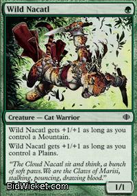 Wild Nacatl, Shards of Alara, Magic the Gathering