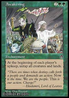 Awakening, Stronghold, Magic the Gathering