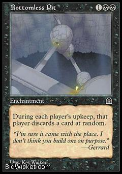 Bottomless Pit, Stronghold, Magic the Gathering