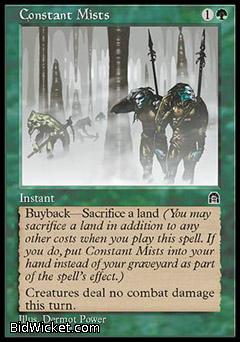 Constant Mists, Stronghold, Magic the Gathering
