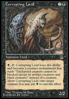 Corrupting Licid, Stronghold, Magic the Gathering