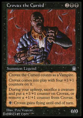 Crovax, The Cursed, Stronghold, Magic the Gathering