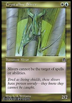 Crystalline Sliver, Stronghold, Magic the Gathering