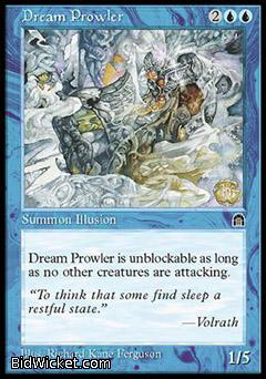 Dream Prowler, Stronghold, Magic the Gathering