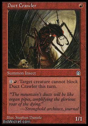 Duct Crawler, Stronghold, Magic the Gathering