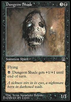 Dungeon Shade, Stronghold, Magic the Gathering