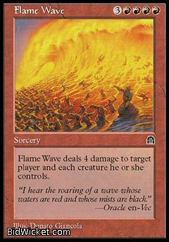 Flame Wave, Stronghold, Magic the Gathering