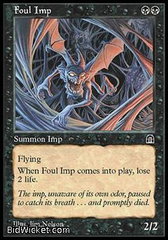 Foul Imp, Stronghold, Magic the Gathering