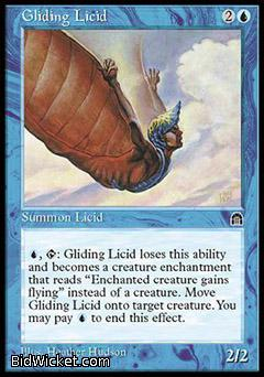 Gliding Licid, Stronghold, Magic the Gathering