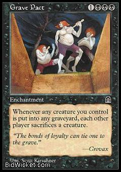 Grave Pact, Stronghold, Magic the Gathering