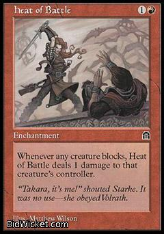 Heat of Battle, Stronghold, Magic the Gathering