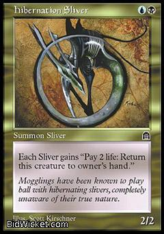 Hibernation Sliver, Stronghold, Magic the Gathering