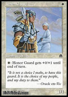Honor Guard, Stronghold, Magic the Gathering
