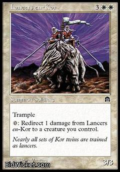 Lancers en-Kor, Stronghold, Magic the Gathering