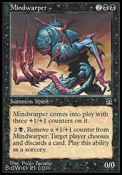 Mindwarper, Stronghold, Magic the Gathering