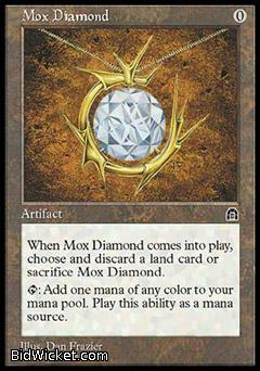 Mox Diamond, Stronghold, Magic the Gathering