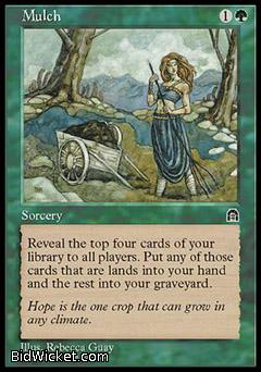 Mulch, Stronghold, Magic the Gathering