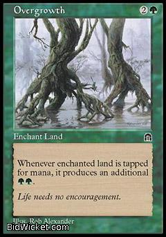 Overgrowth, Stronghold, Magic the Gathering