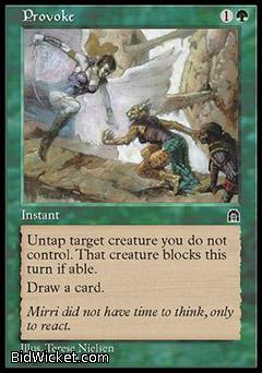 Provoke, Stronghold, Magic the Gathering
