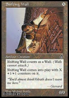 Shifting Wall, Stronghold, Magic the Gathering