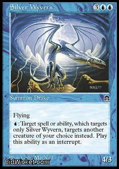 Silver Wyvern, Stronghold, Magic the Gathering