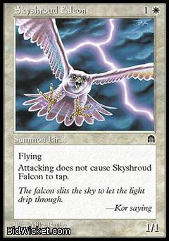 Skyshroud Falcon, Stronghold, Magic the Gathering