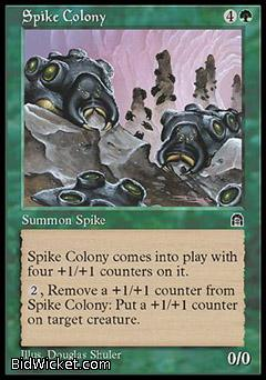 Spike Colony, Stronghold, Magic the Gathering