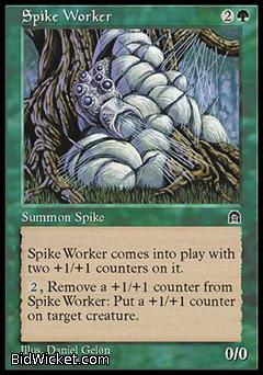 Spike Worker, Stronghold, Magic the Gathering
