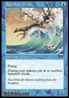 Spindrift Drake, Stronghold, Magic the Gathering