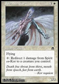 Spirit en-Kor, Stronghold, Magic the Gathering