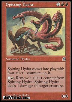 Spitting Hydra, Stronghold, Magic the Gathering
