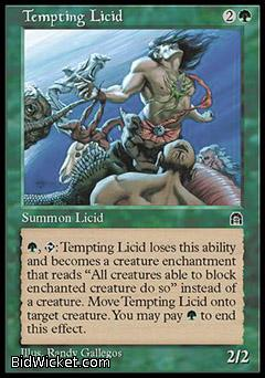Tempting Licid, Stronghold, Magic the Gathering