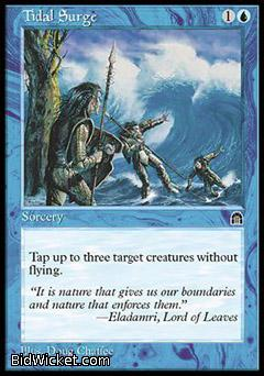 Tidal Surge, Stronghold, Magic the Gathering