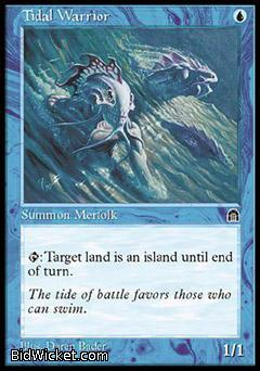 Tidal Warrior, Stronghold, Magic the Gathering