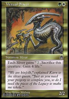 Victual Sliver, Stronghold, Magic the Gathering