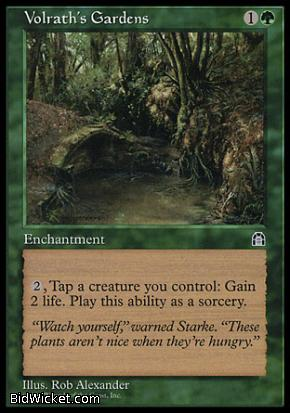 Volrath's Gardens, Stronghold, Magic the Gathering